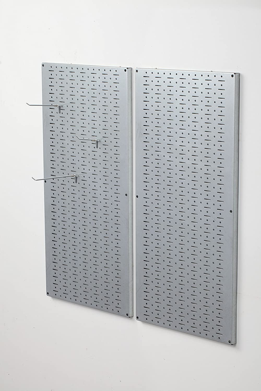 Muscle Rack GPB2 Galvanized Steel Pegboard Pack, 32  Height, 16  Width, 1  Length
