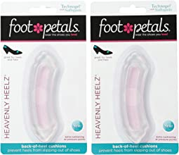 Foot Petals Heavenly Heelz Technogel with Softspots 2-Pair Pack