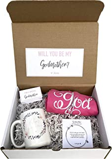 Godmother Box - Personalized Godmother Gift - Will you be My Godmother Box