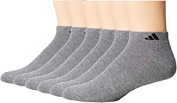 adidas Athletic 6-Pack Low Cut Socks