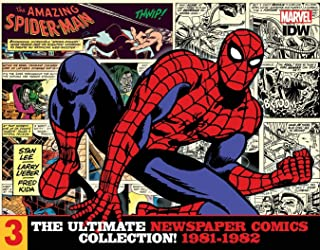The Amazing Spider-Man: The Ultimate Newspaper Comics Collection Volume 3 (1981-1982) (Spider-Man Newspaper Comics)