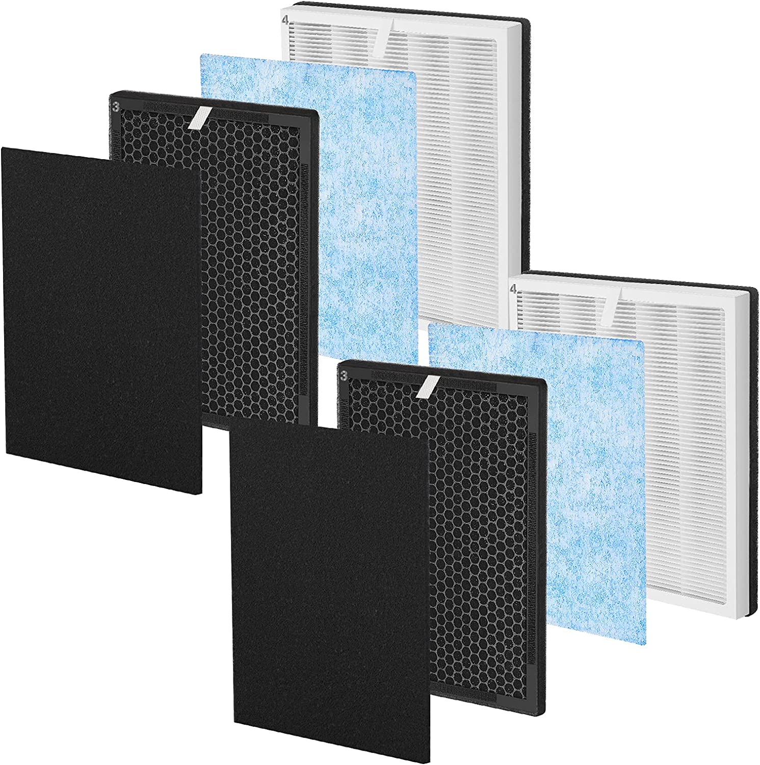 iSingo RP-AP001 True Free shipping anywhere in the nation Genuine HEPA Replacement Filter RENP Compatible for