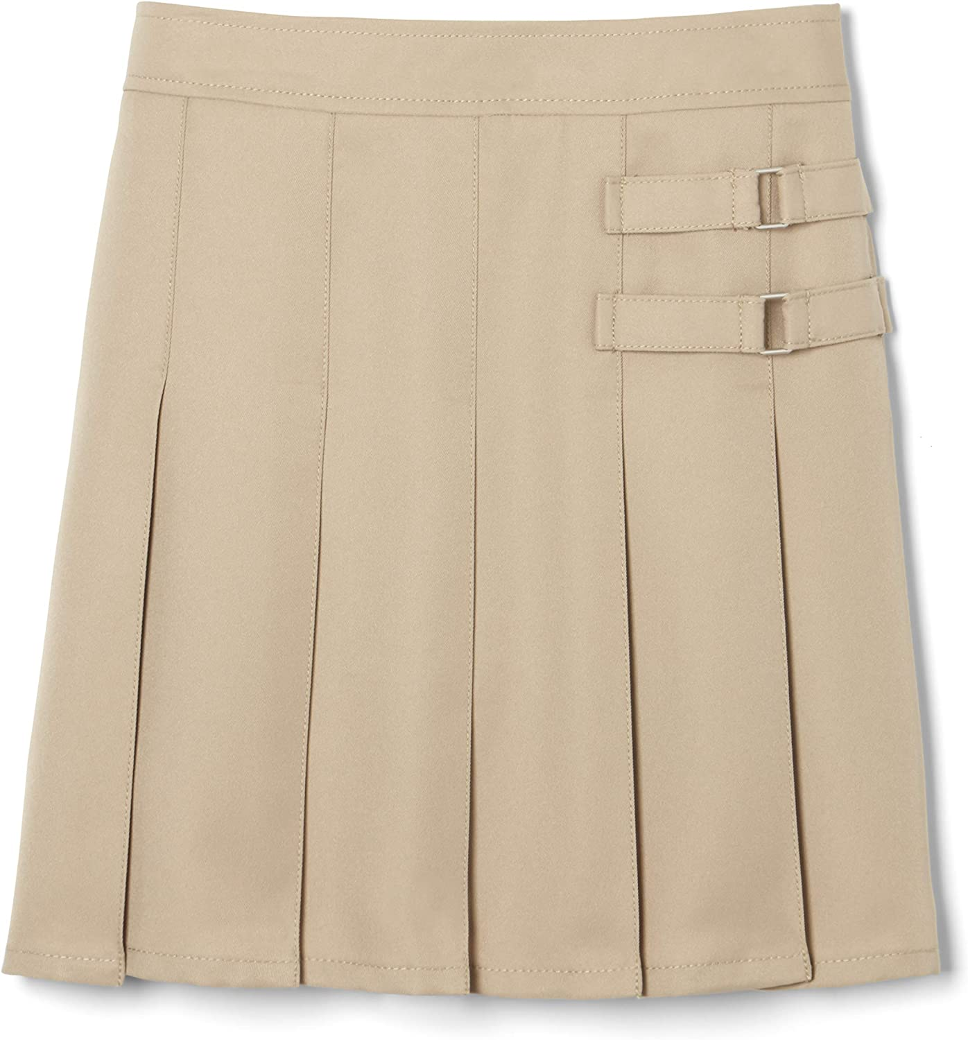 French Toast girls gift Sale item Adjustable Scoote Waist Pleated-front Two-tab