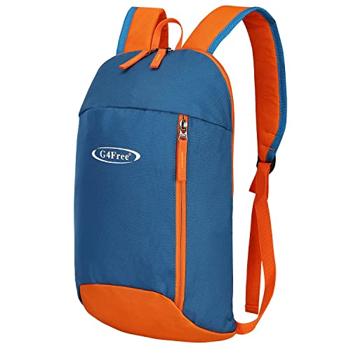 G4Free Outdoor Backpack Multipurpose Daypack Small Hiking Rucksack Mini  Bookbags 10L for Adults and Teenagers 909322efc043e