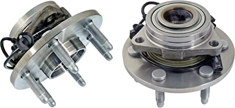 Detroit Axle - 4WD FRONT Wheel Bearing and Hub Assembly (Left & Right) for Chevrolet & GMC Truck's & SUV's 4x4 6-Lug ABS