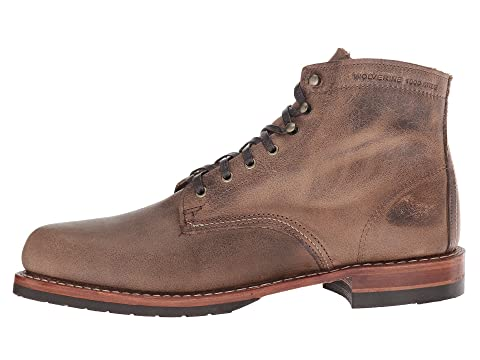 Brown LeatherStone LeatherDark Wolverine Brown Evans w5IYgIqX