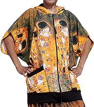 Raan Pah Muang Gustav Klimt The Kiss Butterfly Wing Hoody Jacket