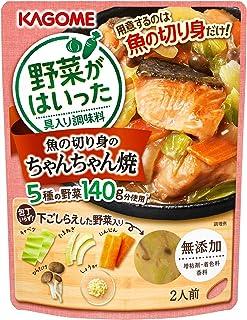 カゴメ 野菜がはいった具入り調味料 魚の切り身のちゃんちゃん焼き 170g