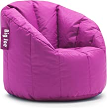 Big Joe Milano Bean Bag Chair, Multiple Colors (Fuchsia Supreme)