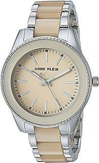 Anne Klein - Reloj de pulsera de resina para mujer