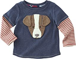 Mud Pie - Puppy Long Sleeve Shirt (Infant/Toddler)