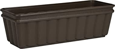 Emsa 959502400 BALCONE Window Box 50 x 17 x 15 cm, Brown