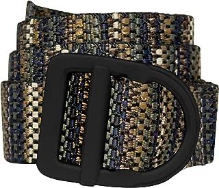 Bison Designs Delta Belt - by - Light Duty 38mm - Black Buckle - Tone l, Jewel, up to 42