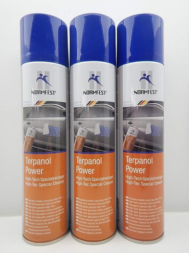 Normfest Terpanol Spezialreiniger Klebstoffentferner Fette Öle Etikett 400ml 1 Auto