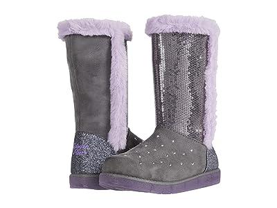 SKECHERS KIDS Glitzy Glam 314857L (Little Kid/Big Kid) (Gray) Girls Shoes