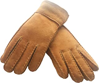 beaver fur lined gloves