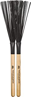 Meinl Stick & Brush Fixed Nylon Brush with Wooden, Standard Size-Made in Germany, Wood Handle (SB303)