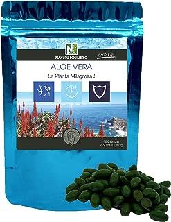 Aloe Vera / 90 cápsulas de 780mg / NAKURU Equilibrio/Analizado y acondicionado en Suiza/La Planta Milagrosa!
