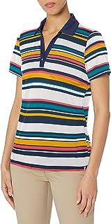 Izod Women's Women's Golf Short Sleeve Snap Polo