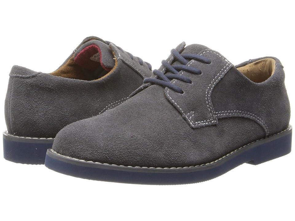Florsheim Kids Kearny Jr. (Toddler/Little Kid/Big Kid) (Gray Suede/Blue Bottom) Boys Shoes