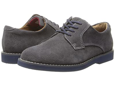 Florsheim Kids Kearny Jr. (Toddler/Little Kid/Big Kid) (Gray Suede/Blue Bottom) Boys Shoes