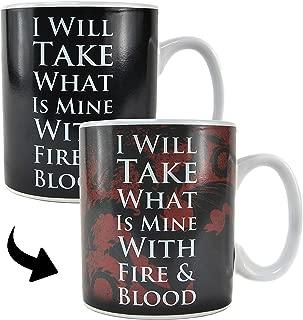 Game of Thrones Heat Change Mug Daenerys Half Moon Calici Tazze