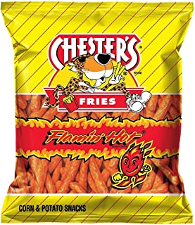 Chester's Hot Fries, 87.4 Ounce (Pack of 20)