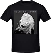 Ellie Goulding Shirt Me Hate Tour 2019 Short Sleeve for Men Hoodies Sports B&W Photo Black Baby Doll T-Shirt (19)