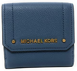 f7fc62fc95c8 Michael Kors Hayes Medium Trifold Coin Case Leather Wallet