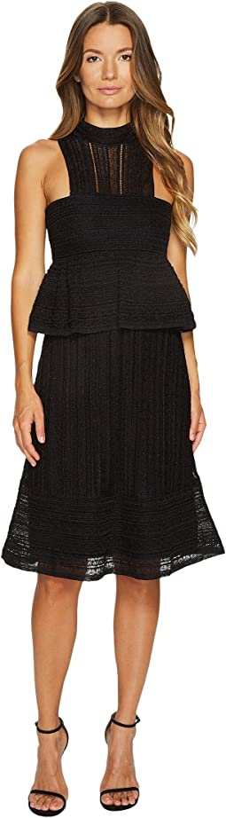 M Missoni - Solid Lurex Lace Dress