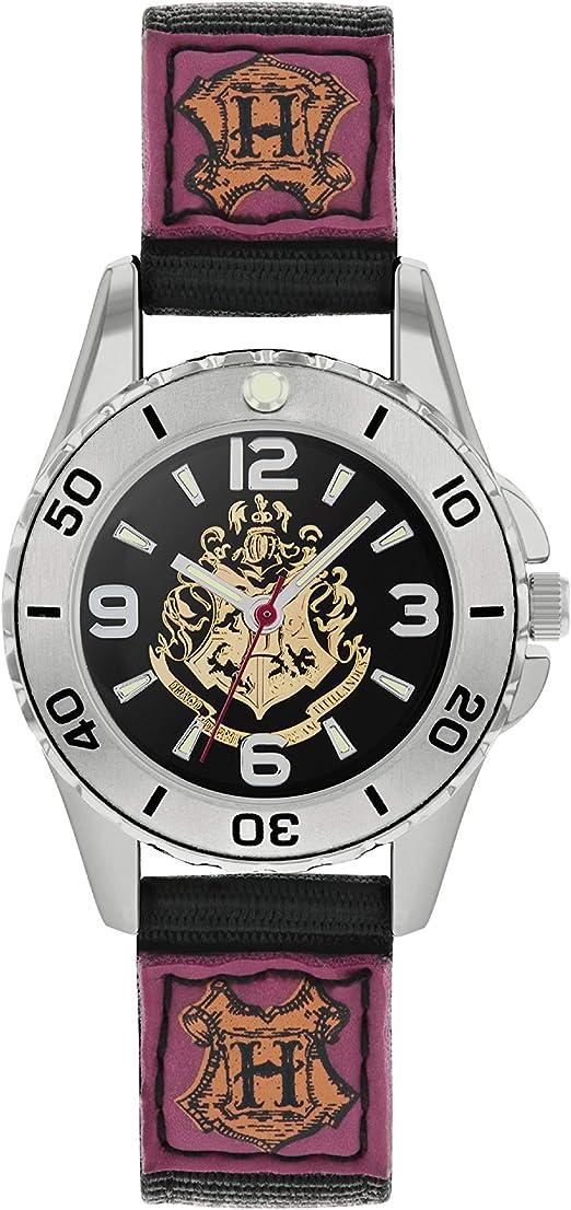 Harry Potter Reloj para de Cuarzo con Correa en Lona HP5100