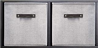 Modernes et fonctionnelles – bacs de rangement pliables – Cubes de rangement durables – Rangement de placard – Panier orga...