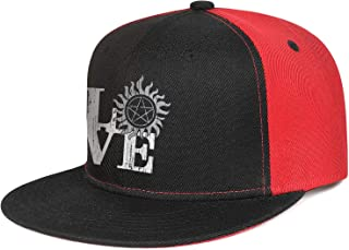 Unisex Baseball Caps Love-Supernatural- Trucker Hat Adjustable Snapback Hats