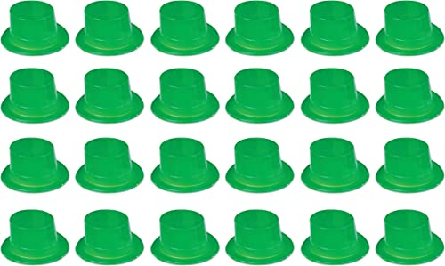 ahorra hasta un 30-50% de descuento Beistle 3372424-Pack 3372424-Pack 3372424-Pack plástico Toppers gorro de fiesta, Color verde  oferta de tienda