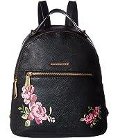 Rampage - Midi Floral Safiano Backpack