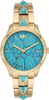 Reloj Analógico para Mujer de Cuarzo con Correa en Acero Inoxidable MK6670