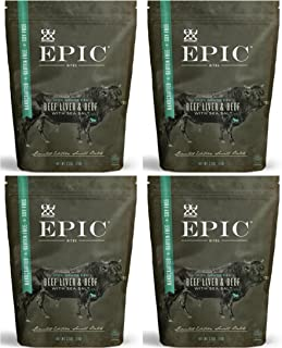 Epic - Beef Liver Bites - 2.5 oz each (4 Pack)