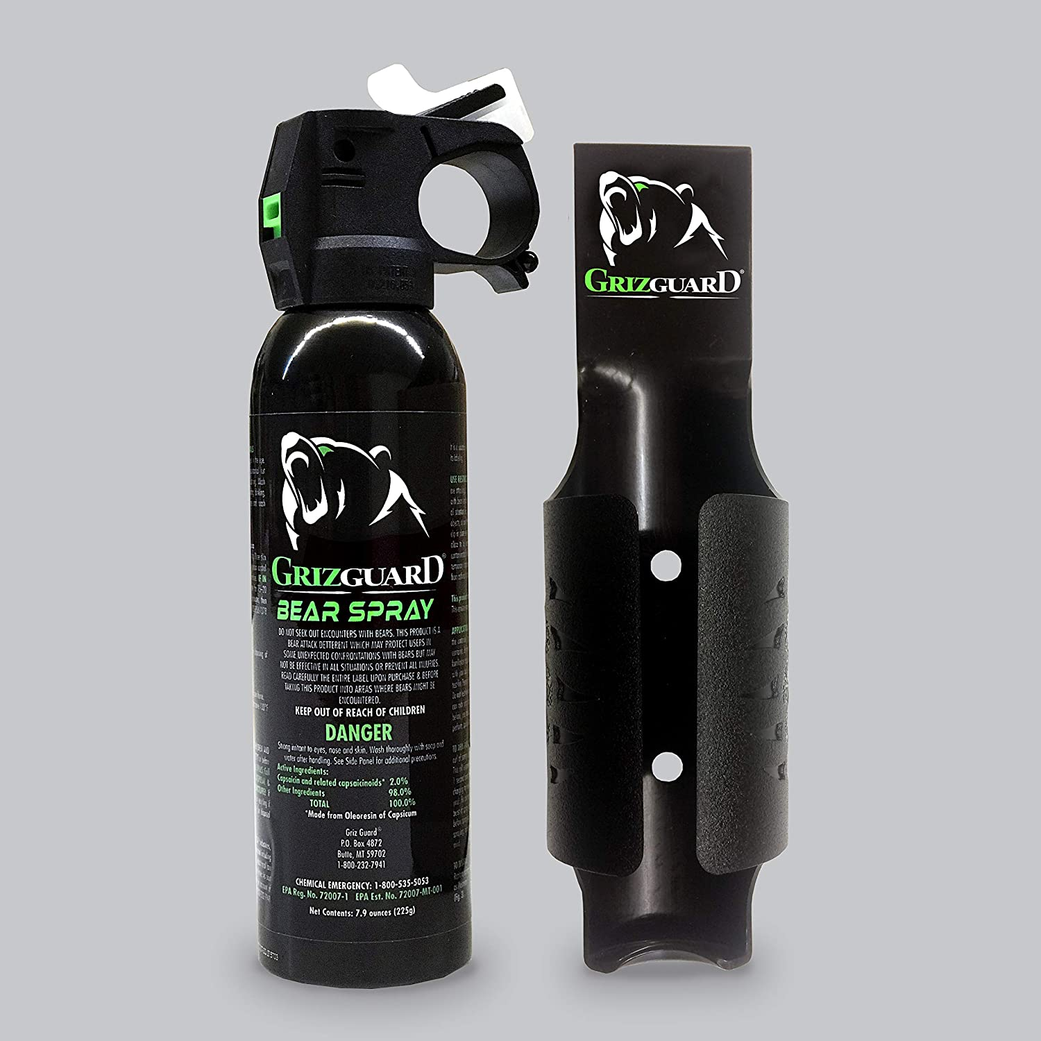 Griz Guard Bear Spray -Strongest by Allowed EPA Include OFFicial shop Formula Max 80% OFF