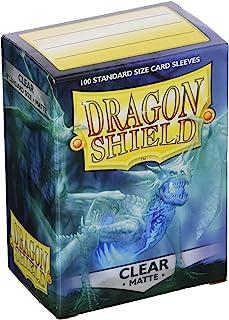 Dragon Shield ART11001 Matte Standard Size Sleeves 100pk-Clear, Multicoloured