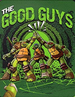 Nickelodeon Teenage Mutant Ninja Turtles Throw Royal Raschel Blanket Good Guys
