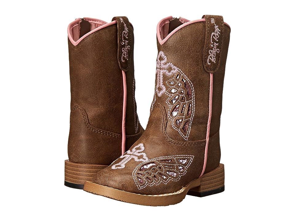 M&F Western Kids Gracie (Toddler) (Brown) Cowboy Boots