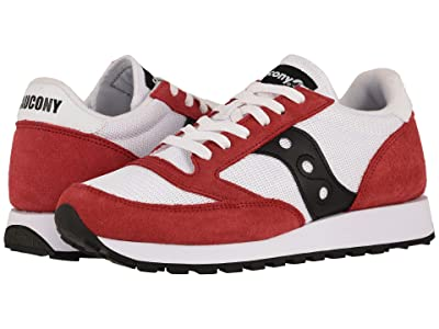 Saucony Originals Jazz Original Vintage (White/Red/Black) Men