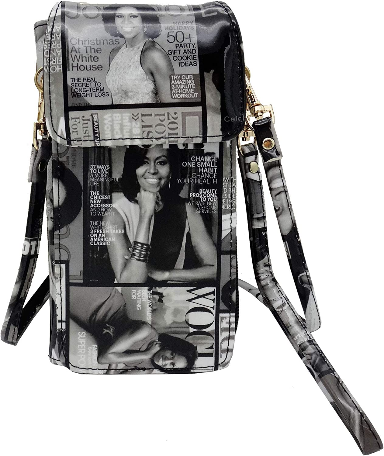 NEW Michelle Obama Cellphone Wallet Wristlet Collection