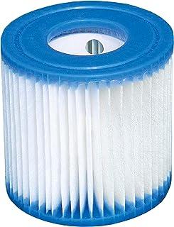 Intex 6 cartuchos de filtros 29007para piscina Quick Up, cartuchos de filtro, filtro de repuesto