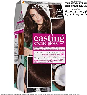 L'Oreal Paris Casting Creme Gloss - 323 Darkest Warm Brown