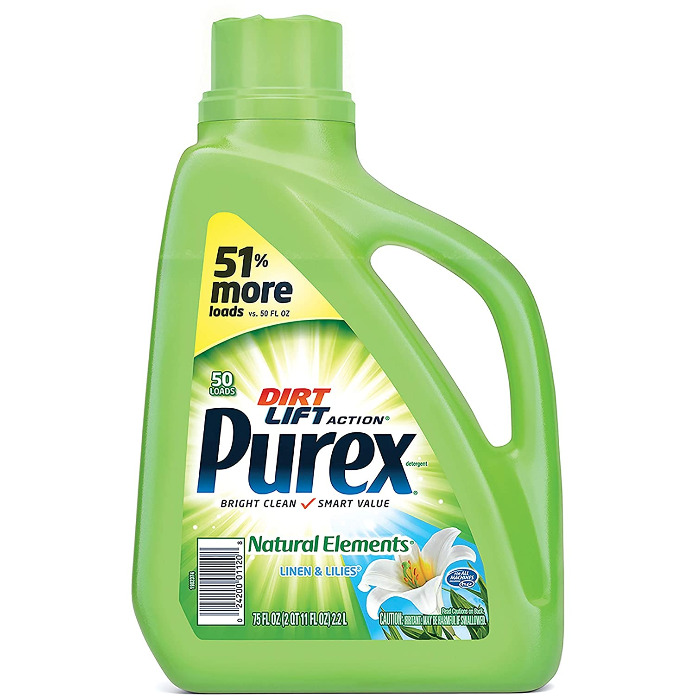 Purex Natural Elements Liquid Detergent Max 83% Spasm price OFF