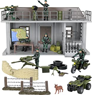 Click N' Play Military Multi Level Command Center He