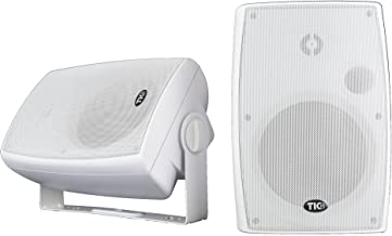 "TIC BPS6-6.5"" White Indoor/Outdoor Bluetooth Patio Speakers (Pair)"