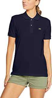 Lacoste Women's 2 Button Relaxed Fit Polo