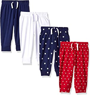 Boys' 4-Pack Pull-on Pant